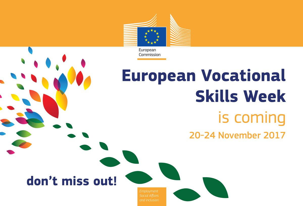 Save the Date – European Vocational Skills Week 2017