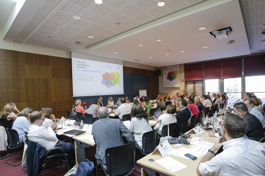 Apprenticeships discussed at Cedefop policy learning forum