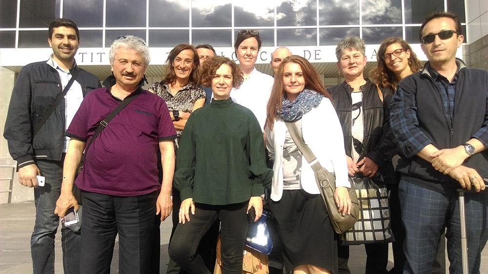 Втора международна среща по проект 3MVET в Испания, Сарагоса - работещо партньорство в действие