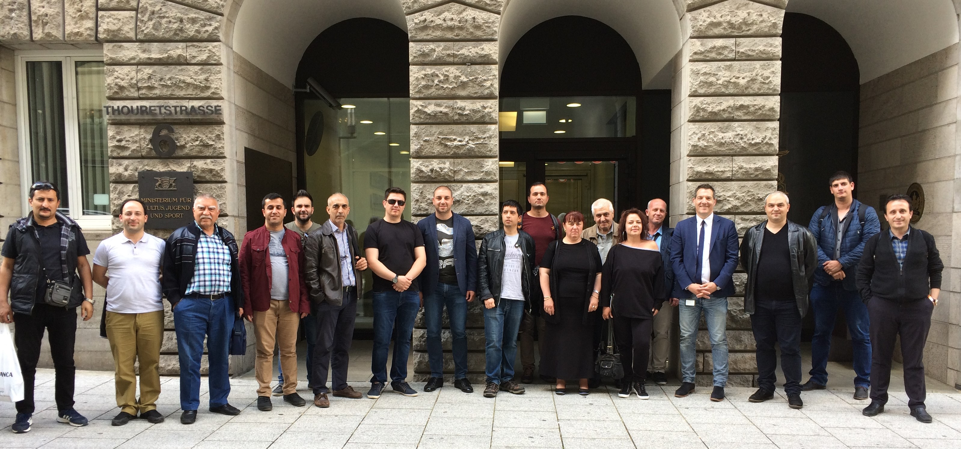 VET-teachers and trainers from Bulgaria and Turkey came to visit Germany