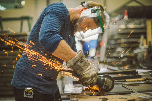 Vocational  training in metal sector